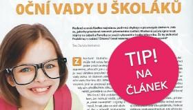 """TIP na článek: """"Oční vady u školáků"""""""