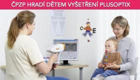 ČPZP poskytuje příspěvek na vyšetření PlusOptix