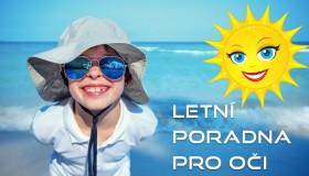 Letní poradna pro dětské oči